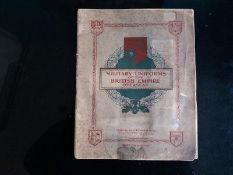 CIGARETTE CARDS - MILITARY UNIFORMS SET OF 50
