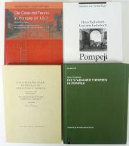 POMPEII -- ESCHEBACH, H. Die Städtebauliche Entwicklung des antiken Pompeji mit einem Plan