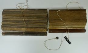 MALAY ARCHIPELAGO -- MANUSCRIPT on lontar leaves, consisting of 190 lvs. between wooden