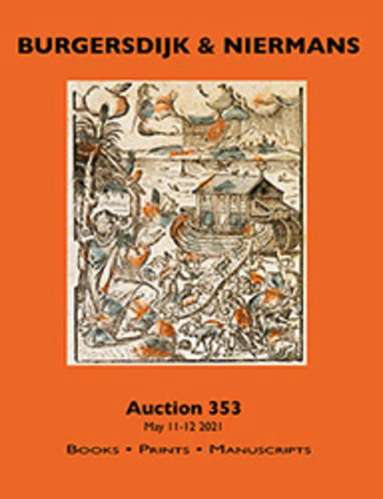Auction 353: Books, Prints, Manuscripts