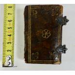 SONGBOOK/MINIATURE BOOK -- GROOT HOORNS, ENKHUYSER, ALKMAERDER en PURMERENDER LIEDE-BOECK, Verciert