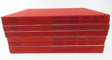 POMPEII -- DEUTSCHES ARCHÄOLOGISCHES INSTITUT: Häuser in Pompeji. Hrsg. v. V.M. Strocka. Bd