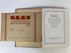 BUILDING MATERIALS -- KLEI. Orgaan v.d. Bond v. Nederlandsche Baksteenfabrikanten. Jg. 11-14, 16