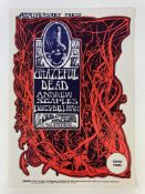 GRATEFUL DEAD/Andrew Staples. 12 Nov. The Old Cheese Factory San Francisco