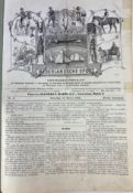PERIODICALS -- NEDERLANDSCHE SPORT. Jg. 1-21. Amst., 1882-1902. 21 vols. Lge-fol. Cont