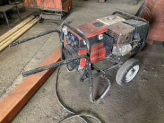 GenWeld GW200P mobile welding set with petrol engine, serial no. 17397