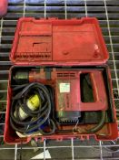 Hilti TE12 110v SDS drill in case