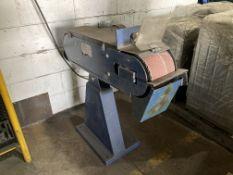 Kepp model 150-2000 belt grinder/linisher, Series 60,000, Serial no. 492234140, belt dimension