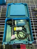 Makita 110v half-inch drill with case