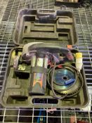 Evolution 230 110v circular saw with case