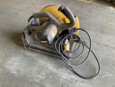 DeWalt DW875 110v steel cutoff saw