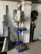 Meyer SR32AE engineers pillar/vertical drilling machine, serial no. C105343, Drilling capacity 32mm