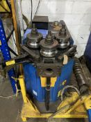 CML CE50HE angle & tube rolling machine with spiral rolling attachment and set of tooling, year 1999