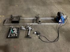 Ynuo welding rotator with foot pedal operation, single phase electric