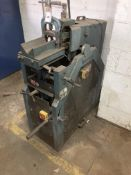 Scantool 100RS tube notcher, serial no. 19498, product no. 0047, dimension/capacity 100x1000mm