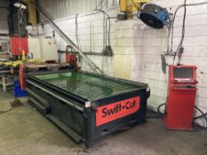 Swift-Cut Automation 3000 XP plasma cutter with 3m table and Hypertherm MaxPro 200 plasma cutting