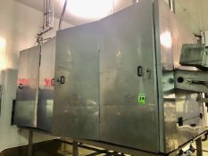 PASTA TECHNOLOGIES GROUP 3-Tier conveyor dryer Mod. INT-40-3-15, S/N 005081102 including temp and