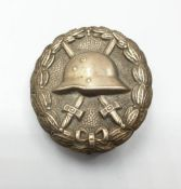 WW1 Imperial German Silver (2nd class) Wound Badge. Awarded for being wounded three or four times.