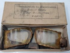 WW2 Imperial German Flying Goggles