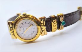 A ladies vintage gold plated wrist watch from Tabbah in Bond street