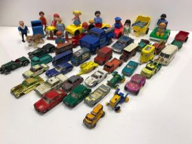 Quantity of Moko Lesney cars some Tonka and other items