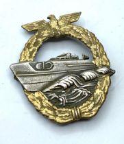 Original S boat cap badge