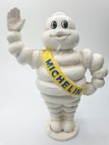 A vintage French cast iron MICHELIN MAN money box. Height: 22.5cm (Not to be confused with modern