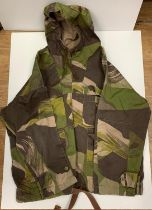 SAS smock type JACKET. WWII style camouflage smock worn by SAS until late 1970's. Size 4 .