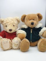 2 Harrods Teddy Bears 2001&2009 Approx 40 c,s Collectable