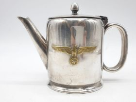 WW2 German Kriegsmarine Coffee Pot.