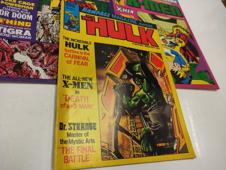 20 Mixed Vintage Marvel Comics. - Image 8 of 42