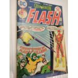7 individually wrapped vintage DC comics, including 'World's Finest'.