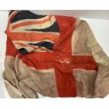 Relic WW1 Royal Navy Ensign. I assume it is WW1 as it was in an old chest with other WW1 Naval