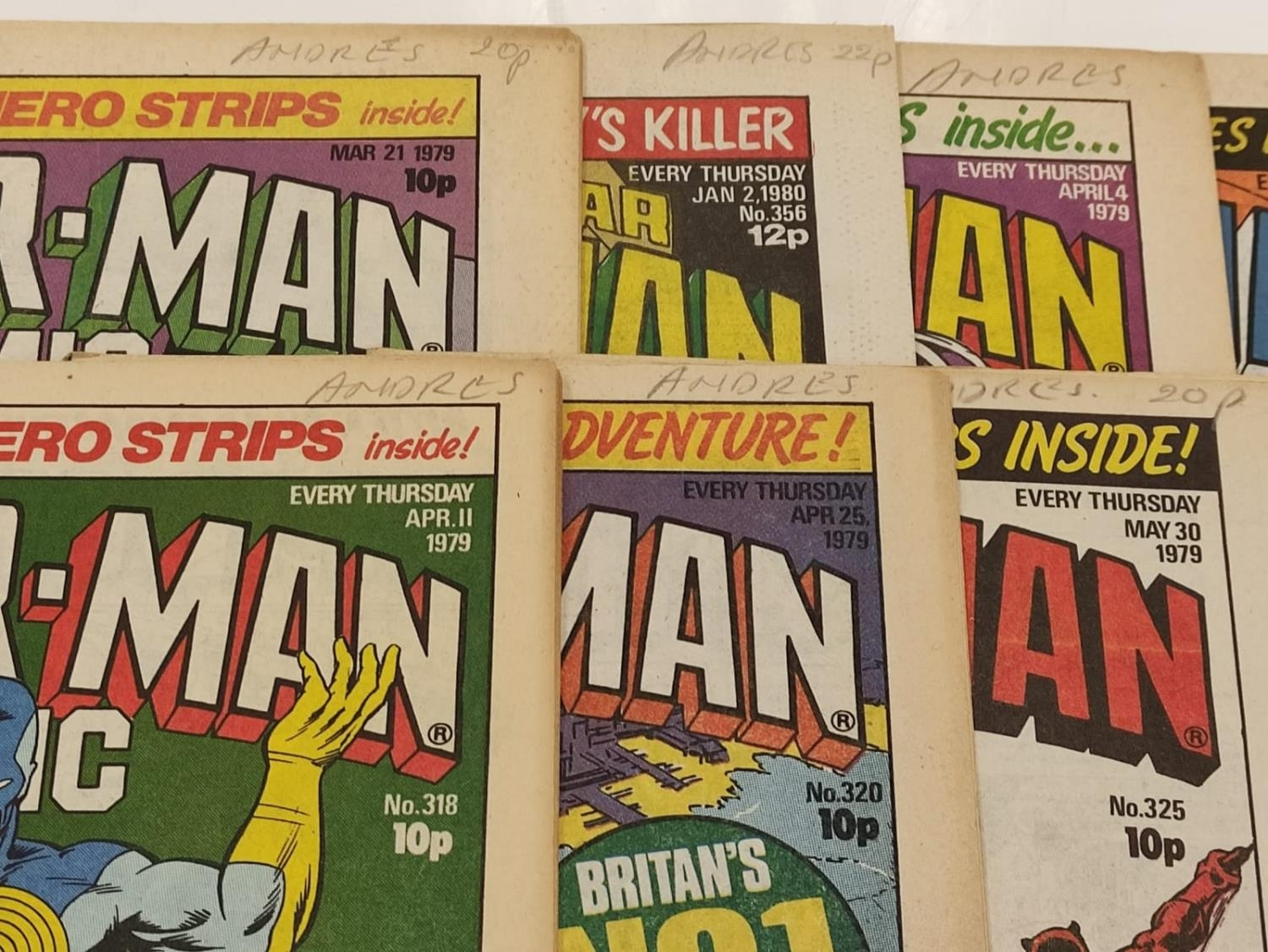 50 editions of Stan Lee Presents, a selection of 1979/1980's comics. - Image 31 of 71