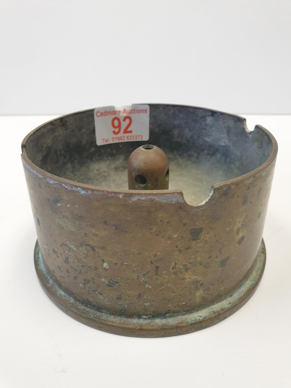 WWII Trench Art Shell Ashtray