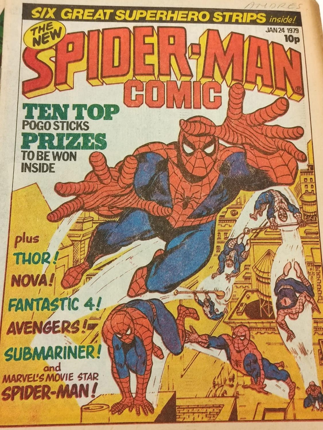 50 editions of Stan Lee Presents, a selection of 1979/1980's comics. - Image 47 of 71