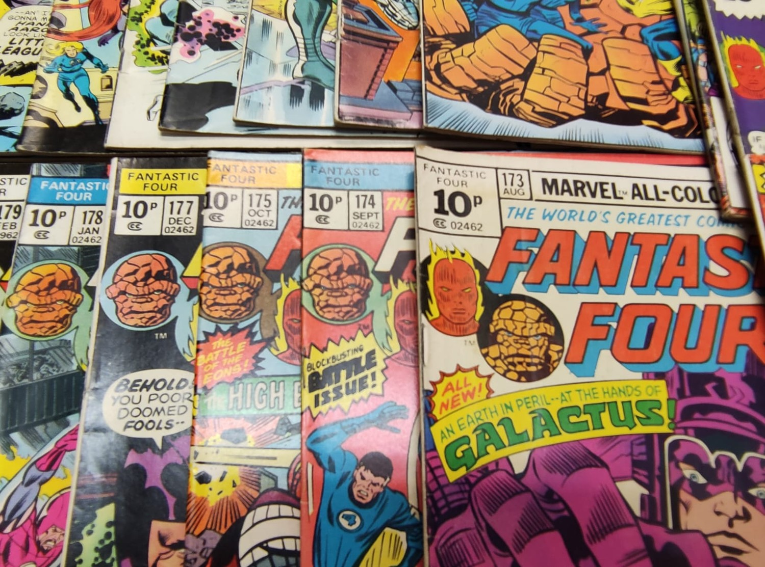 30x Marvel Fantastic four mid 1970s editions. Used, in good condition. - Image 10 of 17