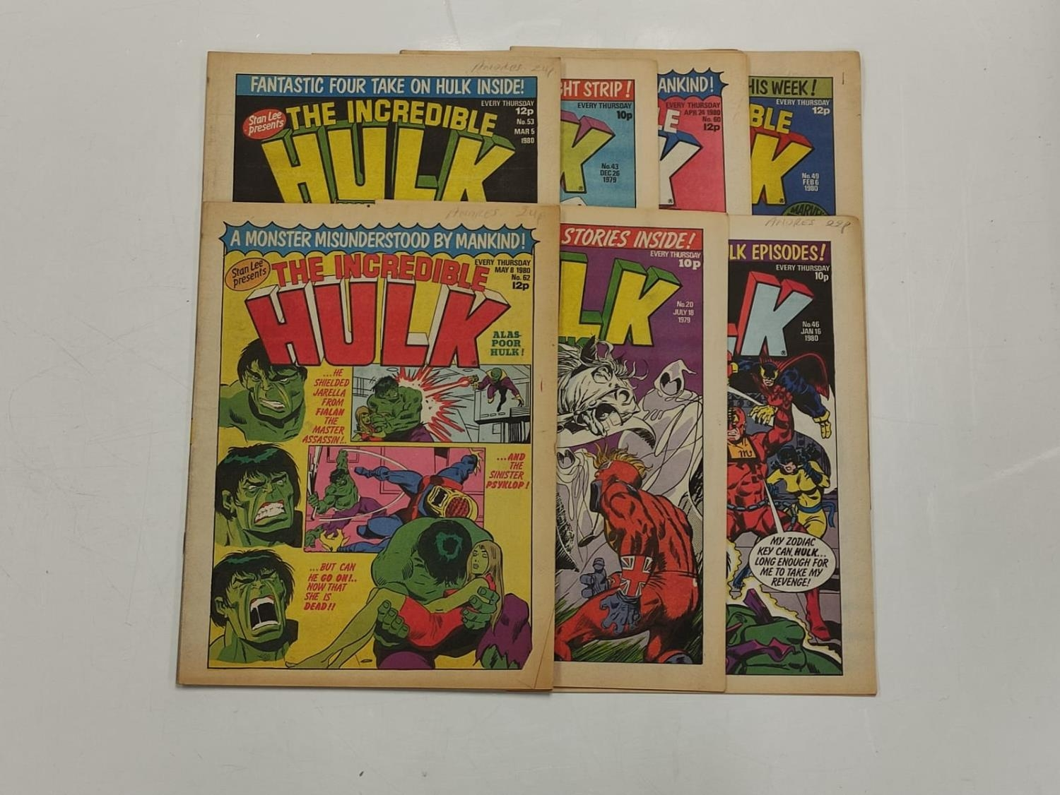 50 editions of Stan Lee Presents, a selection of 1979/1980's comics. - Image 20 of 71