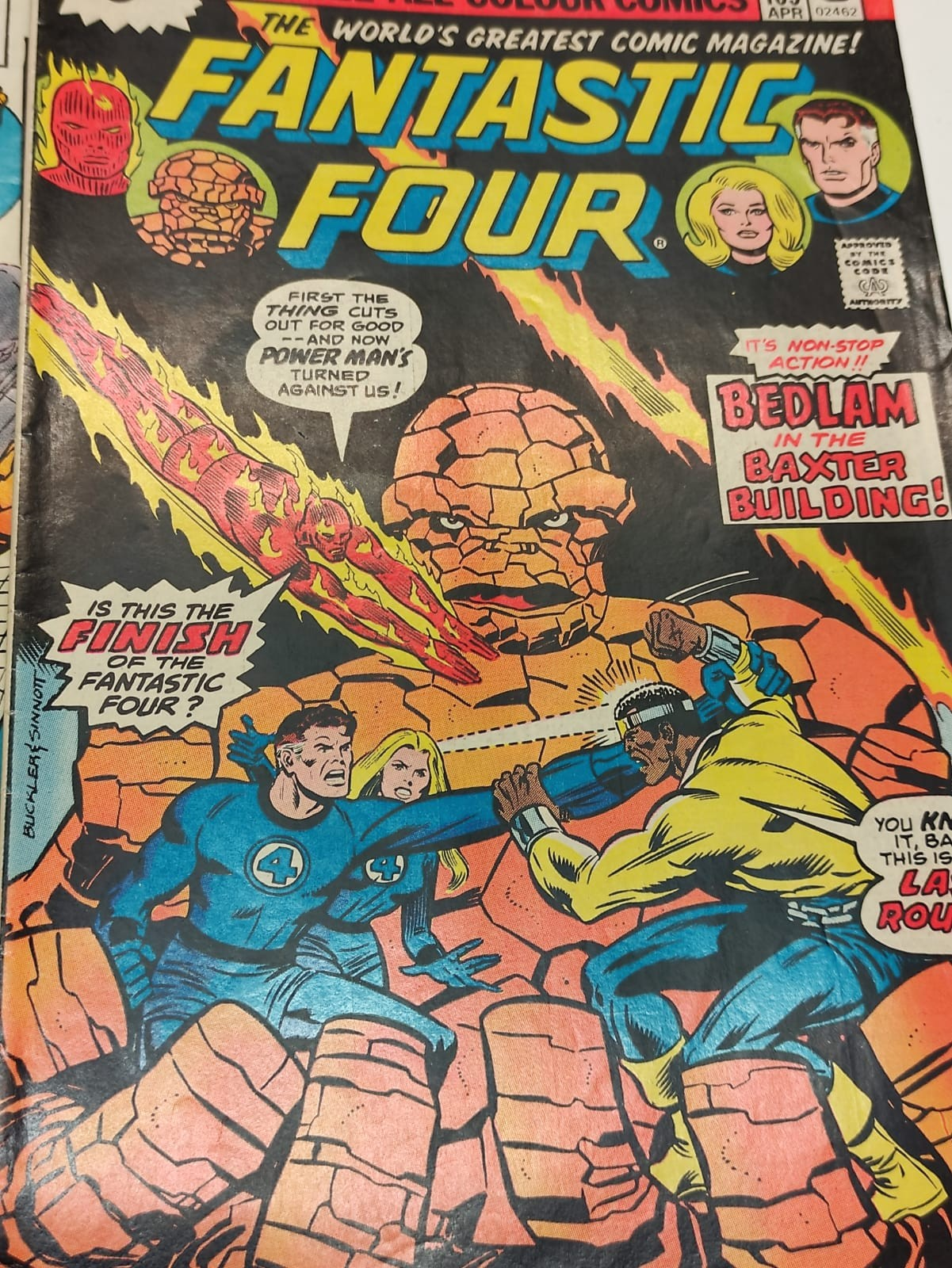 30x Marvel Fantastic four mid 1970s editions. Used, in good condition. - Image 16 of 17