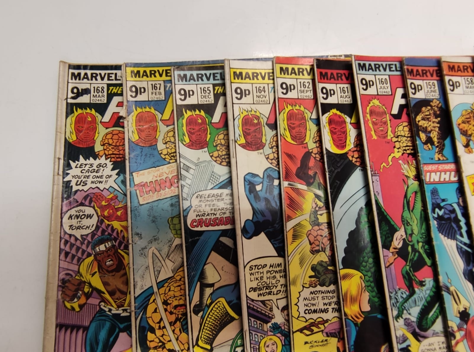 30x Marvel Fantastic four mid 1970s editions. Used, in good condition. - Image 4 of 17