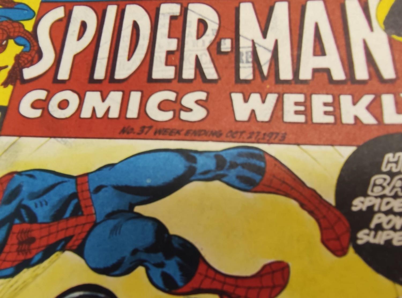 6 x Marvel comics. 1973 Spider-Man comics weekly. - Image 9 of 13
