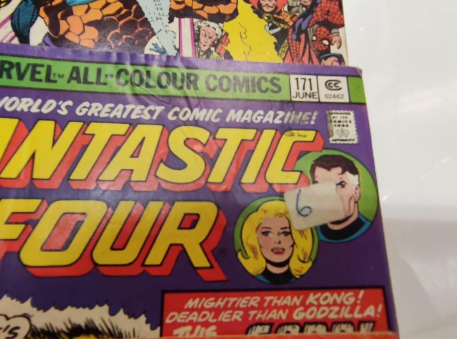 30x Marvel Fantastic four mid 1970s editions. Used, in good condition. - Image 11 of 17