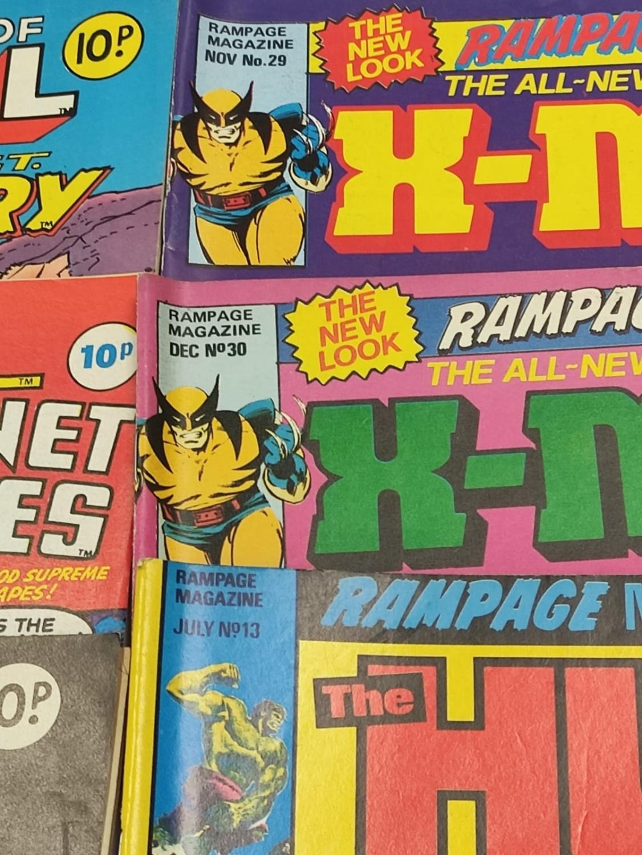 20 Mixed Vintage Marvel Comics. - Image 18 of 42
