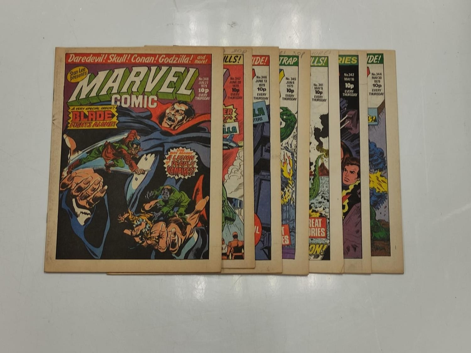 50 editions of Stan Lee Presents, a selection of 1979/1980's comics. - Image 59 of 71