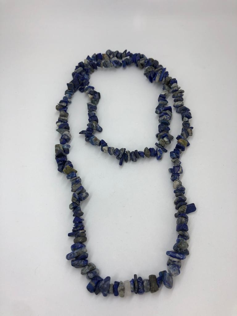 Lapis lazuli necklace around 73g and 31inches