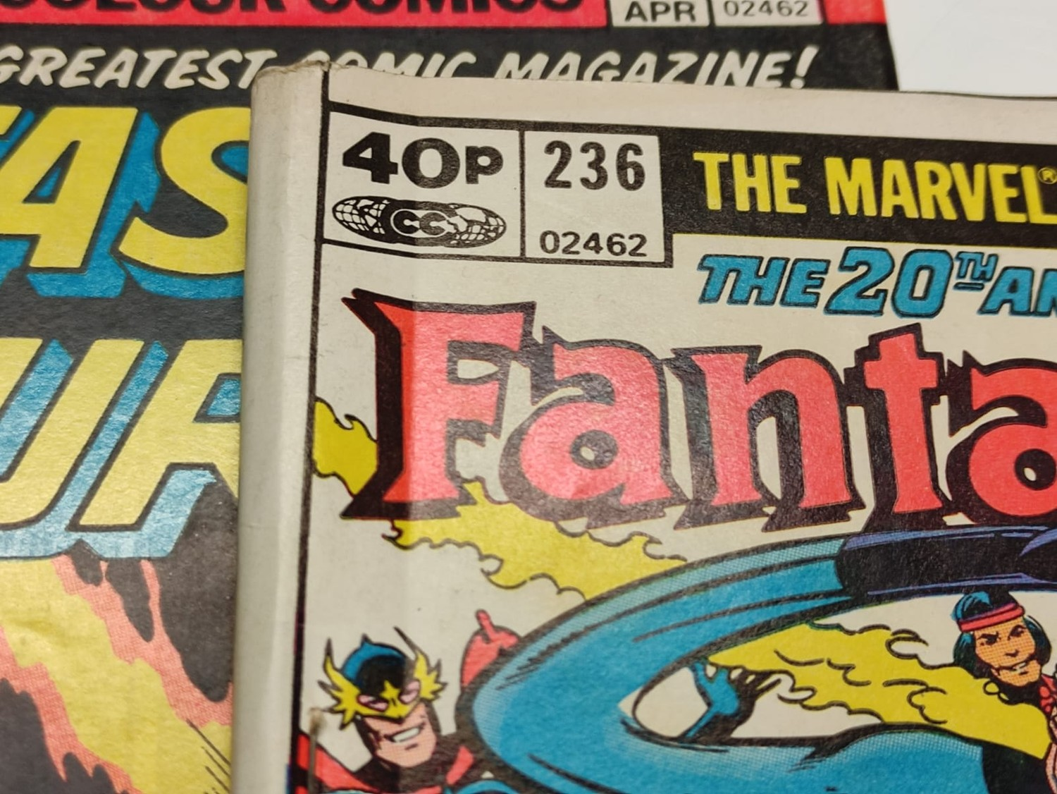 30x Marvel Fantastic four mid 1970s editions. Used, in good condition. - Image 13 of 17