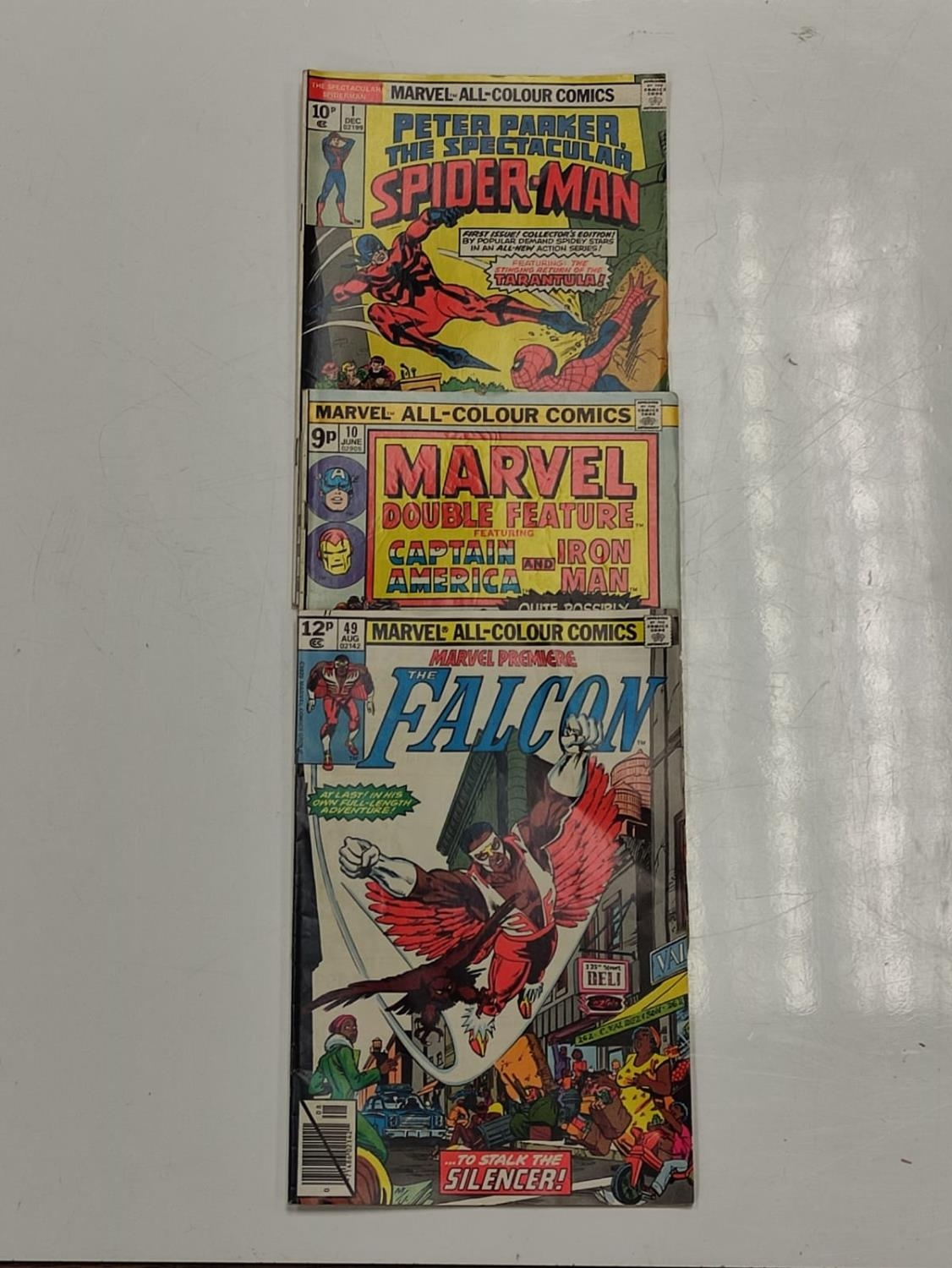 3 Eclectic Vintage Marvel Comics, including the rare 'Peter Parker, The Spectacular Spider-Man'. - Image 2 of 8