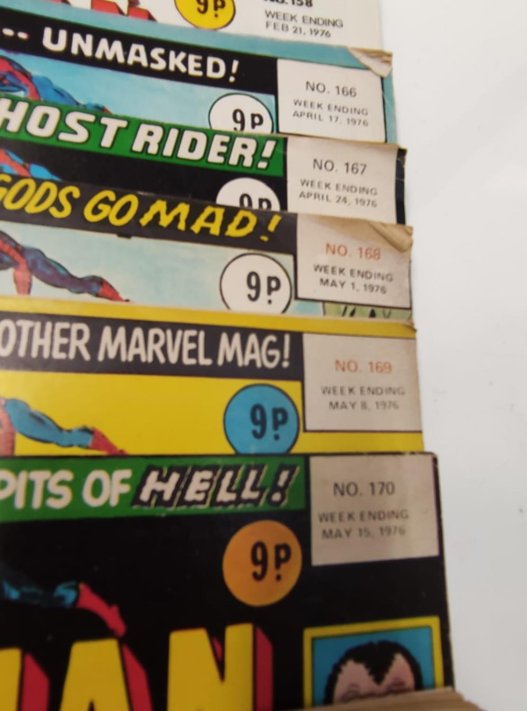 27 editions of Vintage Super Spider-Man Marvel Comics. - Image 7 of 13