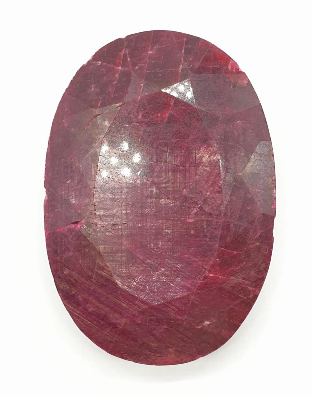 661ct Massive size rectangular Ruby Gemstone GLI CERTIFIED - Image 4 of 6