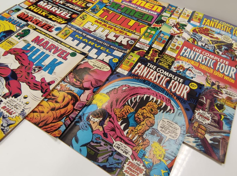 20 Mixed Vintage Marvel Comics. - Image 34 of 42